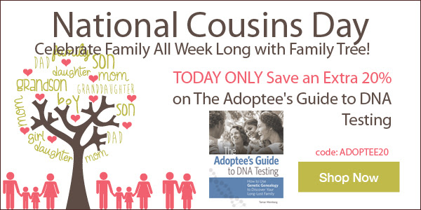 Save 20% on The Adoptee's Guide to DNA Testing + FREE SHIPPING! from Family Tree Magazine