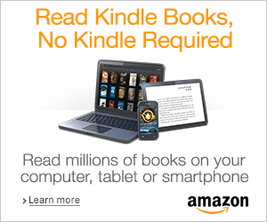 "Did you know that Amazon provides a FREE Kindle App that you can install on a desktop computer, laptop, tablet or most any smart device? Click HERE to download the app . . . and don't worry, the app is ""responsive"" which means it will know which version you need!"