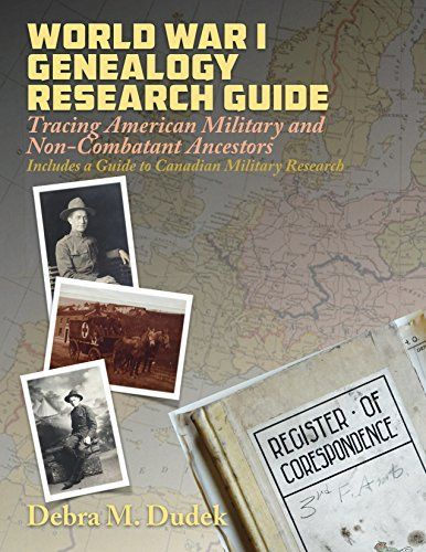 Genealogy author and educator Thomas MacEntee reviews World War I Genealogy Research Guide by Debra M. Dudek – a valuable resource for any researcher of The Great War and those who fought.