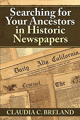Save 55% on Searching For Your Ancestors in Historic Newspapers via Amazon!