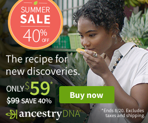 Save 40% on AncestryDNA - just $59 USD during AncestryDNA Summer Sale