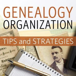 Genealogy Organization Tips and Strategies (Video Download): Get the keys to improving your genealogy research with Genealogy Organization Tips and Strategies. Save time, money and your energy by learning techniques that will help you focus on identifying, setting, and achieving your research goals. Organizing your family history research is one surefire way to improve your genealogy skills and practice, allowing you to dedicate your time to uncovering more of your family history.