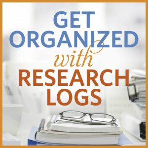 Get Organized with Research Logs (Video Download): In this hour-long presentation, Lisa A. Alzo will discuss the importance of logging your family research, how to set up a template for your own genealogy research log, and which type of research log is right for you.